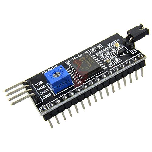 IIC I2C TWI SPI Serial Interface Board 1602 2004 LCD Display Module for Arduino