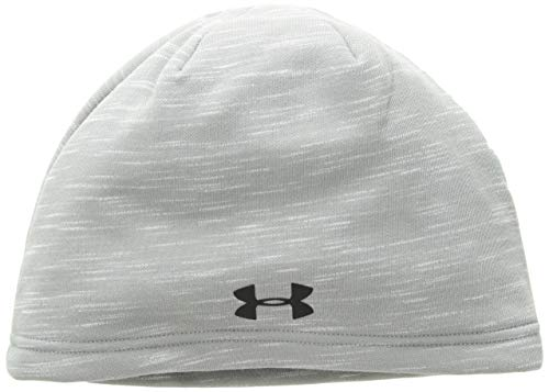 Under Armour Boys Coldgear infared Elements Beanie, Steel (035)/Black, One Size Fits All