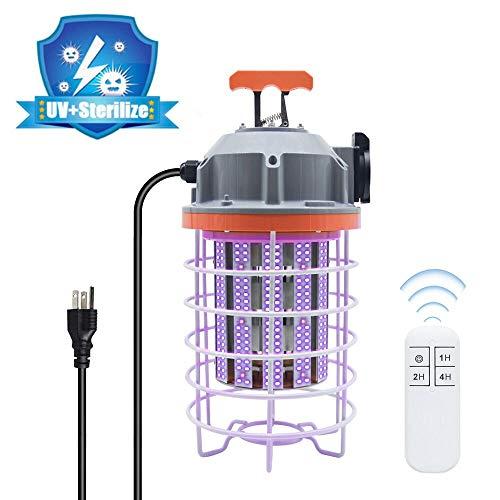 UV-C Temporary Work Light High-Power 80W 800W Equiv 250nm Lamp for Office Car Living Room Bedroom Household (Sensor Sensing Version)