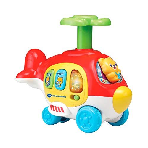 Vtech 80-513904 Drück-mich-Hubschrauber Babyspielzeug, Mehrfarbig