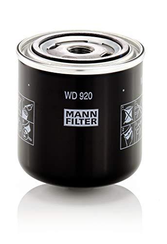 Original MANN-FILTER Hydraulikfilter WD 920 – Für Industrie, Land- und Baumaschinen