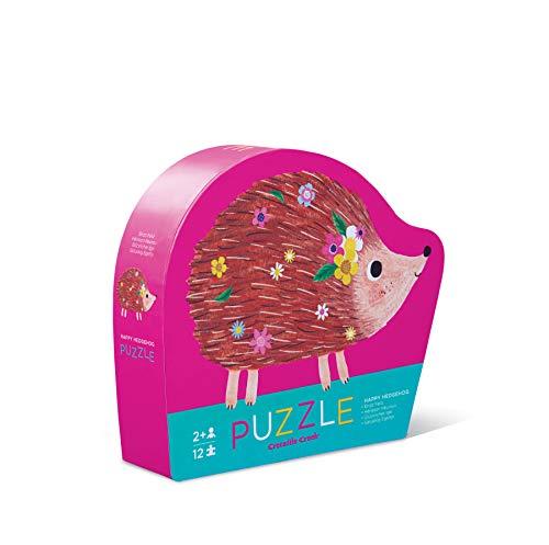 Crocodile Creek 384113-2 - Happy hedgehog - puzzle para niños con piezas pequeño 12 piezas (Juguete)