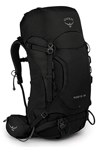 Osprey Kestrel 38 Men's Hiking Pack - Black (S/M)