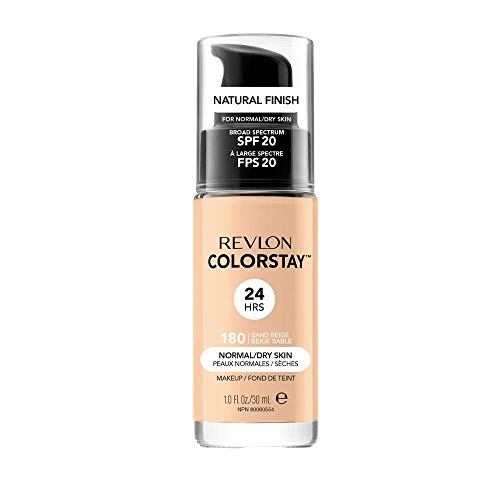 COLORSTAY FOUNDATION NORMALDRY SKIN BEIGE 30ML 180 SAND