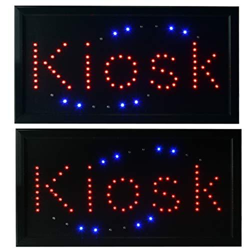LED Leuchtreklame Werbung, LED Schild, Leuchtschild Noyan® (Kiosk)