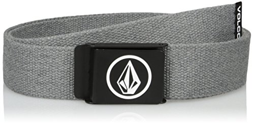 Volcom Herren Gürtel Circle Web, Charcoal Heather, One Size