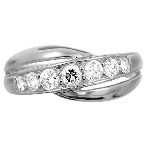[ココカル]cococaru ダイヤモンド リング プラチナ Pt900 指輪 18号 天然 ダイヤ SIクラス 日本製