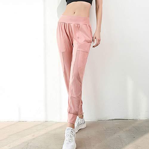 ZXXIS Dames Fitness met wijde pijpen Losse sport Yoga broek Mesh broek Jogger Slim Sportwear Ademend