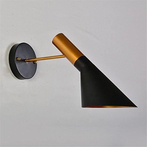 personnalité créative nordique lampe murale LED applique murale lampe de chevet chambre fer Restaurant Cafe