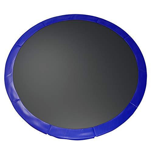 Fast-Jump - Cuscino di protezione delle molle per trampolino, 366 cm, colore: Blu intenso