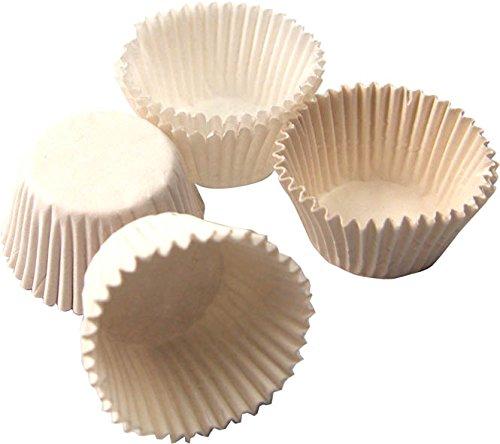 Birambeau 5690caissette Piccolo Modello Carta Bianco/Beige 3,5x 3,5x 2cm–Set di 100