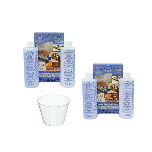 Clear Cast (2 -Pack) with Bonus 10 Disposable 1oz. Medicine Cups Graduated