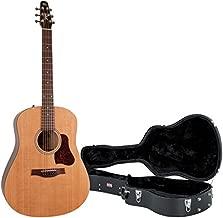 Seagull 046386 S6 Original New 2018 Model Acoustic Guitar w/Hard Case