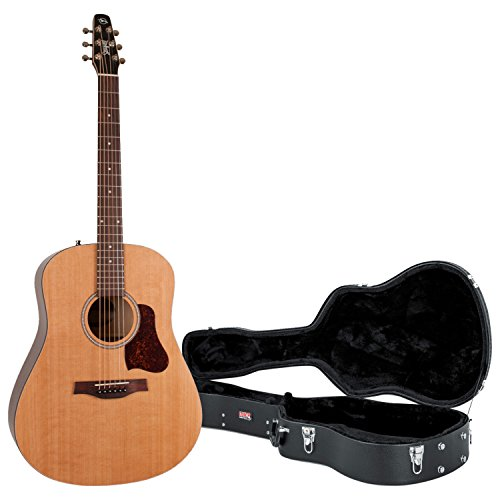 Seagull 046386 S6 Original New 2018 Model Acoustic Guitar w/Hard Case