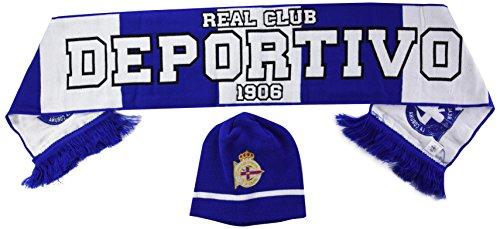Real Club Deportivo de La Coruña Setdep Set de Bufanda...
