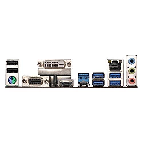 Asrock AB350 PRO4 Mainboard mit Chip schwarz