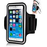 Shaarq Adjustable Mobile Holder Sports Armband for Running for Screen Size Upto 6 Inches running armband for i phone Jan, 2021