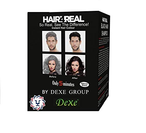 Hair4Real Ammonia Free Shampoo, 25 ml (Pack of 10)