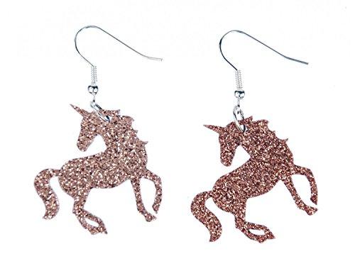 Aretes Unicornio pendientes Miniblings animales fantasía criaturas míticas