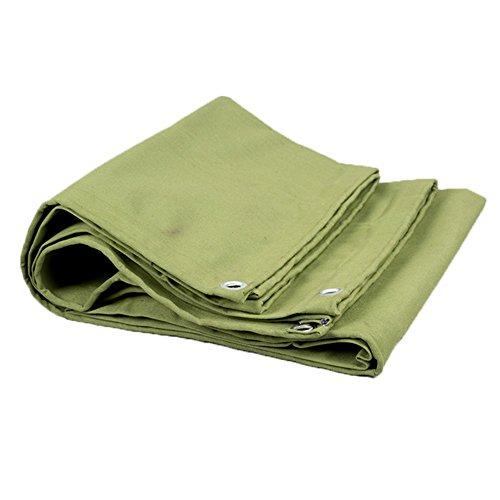 KAISIMYS Cubierta de Mesa de Billar a Prueba de Sombra y Lluvia Hoja de Lona Lona Gruesa Plegable Impermeable Protección Solar Fibra de poliéster Ligera Verde (Color: Verde, Tamaño: 5x6M)