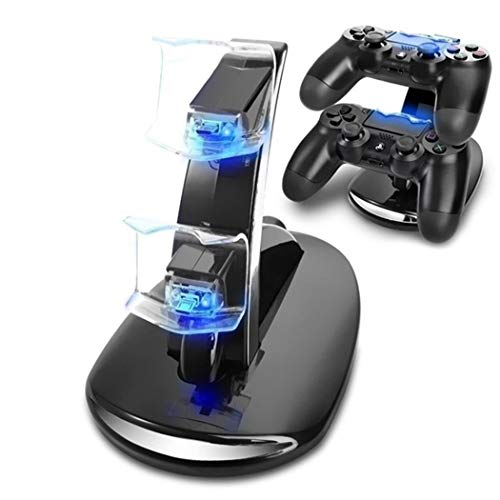 Langle USB Charging Stand PS4 Double Charging Bracket for PS4 Handle Stands