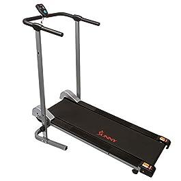 Sunny Health & Fitness SF-T1407M Manual Walking Treadmil...