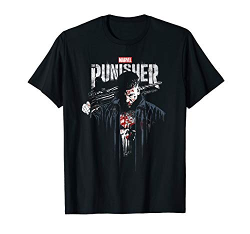 Marvel The Punisher Frank Castle Vigilante T-Shirt