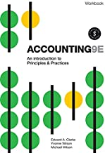 Accounting - An Introduction to Principles and Practice Workbook with Online Study Tools