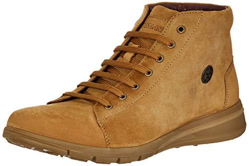 Woodland Men's Ogb 3322119_Camel Leather Boots-9 UK (43 EU) (10 US) 3322119CAMEL