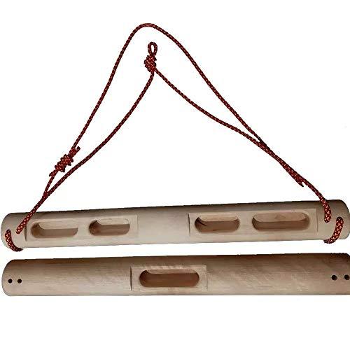HKD Fingerboard Escalada Portable Hangboard para Exterior Entrenamiento de Escalada