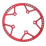 F Fityle Corona per Bicicletta Pieghevoli, Sostituzione Stella Ciclistica - 56T Rosso...