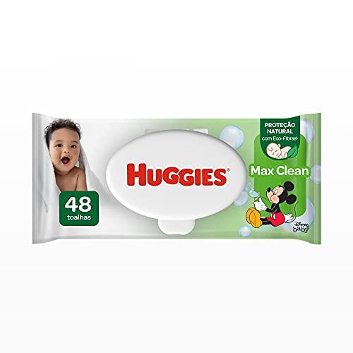 Huggies Lenços Umedecidos Max Clean, 48 Toalhas