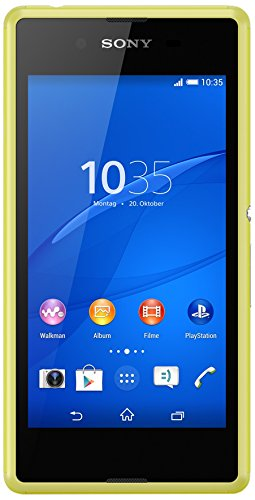 Sony Xperia E3 Smartphone (11,4 cm (4,5 Zoll) IPS-Display, 1,2 GHz-Quad-Core-Prozessor, 5 Megapixel-Kamera, Android 4.4) lime