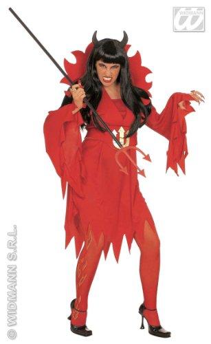 WIDMANN Desconocido Disfraz de Diabla - Talla S