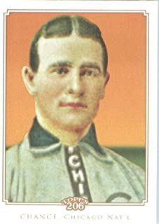 2010 Topps T206 Baseball Card # 233 Frank Chance - Chicago Cubs - MLB Trading Card