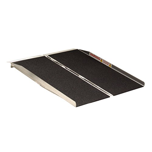Prairie View Industries SFW430 Portable Singlefold Ramp, 4 Feet x 30 Inch