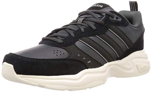 adidas Strutter, Zapatillas Deportivas Hombre, Grey Six/Core Black/Cloud White, 42 EU