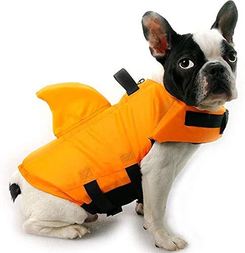DHGTEP Chalecos Salvavidas para Perros/Ayuda a la natación para Perros/Chaleco Salvavidas Amarillo para Perros (Color : XL)