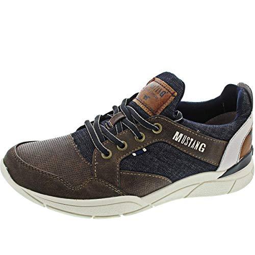 MUSTANG Herren 4138-301-32 Sneaker, Braun (Dunkelbraun 32), 43 EU