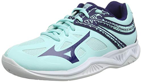 Mizuno Lightning Star Z5 Jr, Zapatillas de Voleibol, Unisex niños, Azul (Blue Light/Astral Aura/White 28), 36 EU