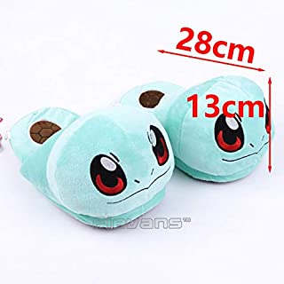 TANGGOOO Charmander Squirtle Adult Plush Slippers Winter Indoor Slippers Plush Toys Soft Dolls Must Have Baby Items Baby Gifts The Favourite Superhero Stickers UNbox Box