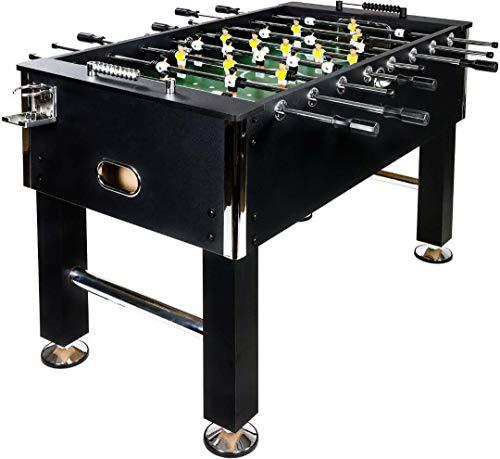 Baby Foot BuckShot Black - Table Soccer 141x77x89cm - Babyfo