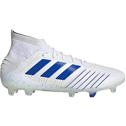adidas Men's Predator 19.1 Firm Ground (8.5) White