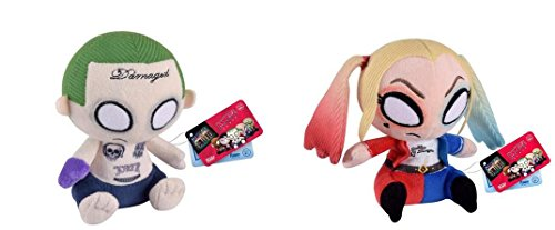 Funko Suicide Squad Mopeez Joker and Harley Quinn Plush Set