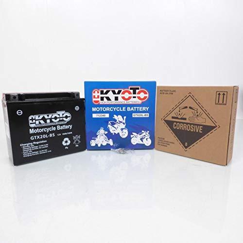 Batterij Kyoto Quad CAN-AM 400 Outlander 4x4 2007-2008 YTX20L-BS / 12 V 18 Ah