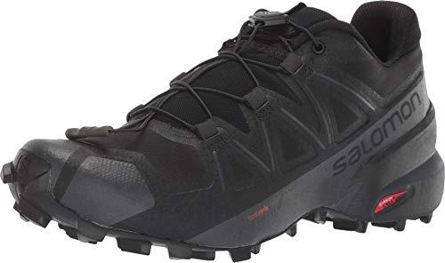 Salomon Damen Speedcross 5 W Trailrunning-Schuhe, Black Black Phantom, 43 1/3 EU