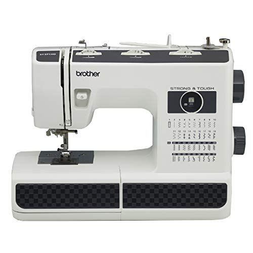 Brother Machine ST371HD, Strong & Tough, 37 Built-in Stitches, Free Arm Option, 6 Included Sewing Feet