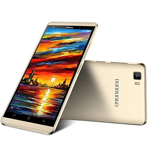 MAFENGWO Moviles Libres Baratos 4G, Teléfono Móvil de 5,2''Pulgadas 16GB ROM Android 8.1 Quad Core Smartphone Libres Baratos 2800mAh Batería Dual SIM Cámara Moviles Baratos y Buenos (Oro)