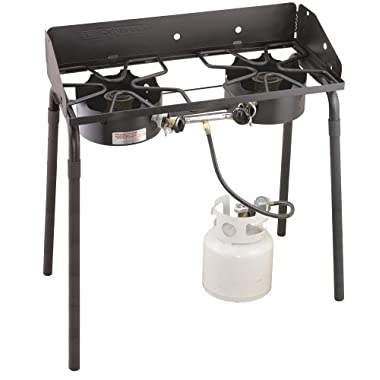 Camp Chef EX280LW Outdoorsman 2 Burner Stove Black