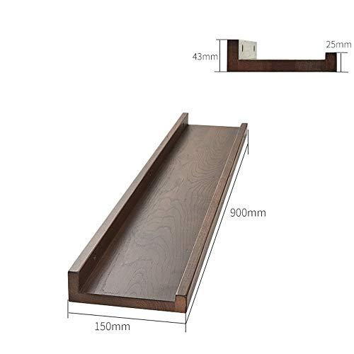plank TV muur opknoping Massief hout scheidingswand/muur